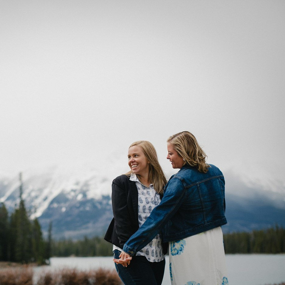 Jasper Canada Same Sex Wedding Photography 0019