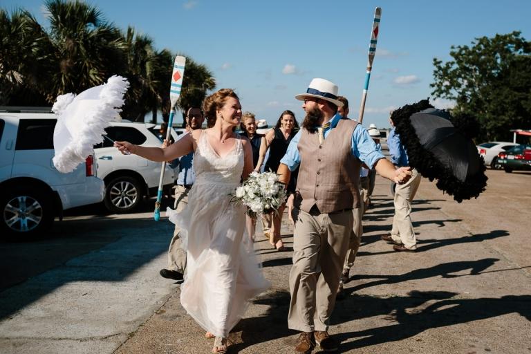 Second Line Wedding Recessional