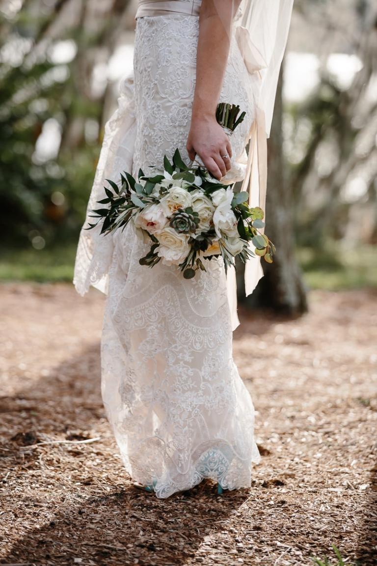 Peony Bouquet Orlando Wedding