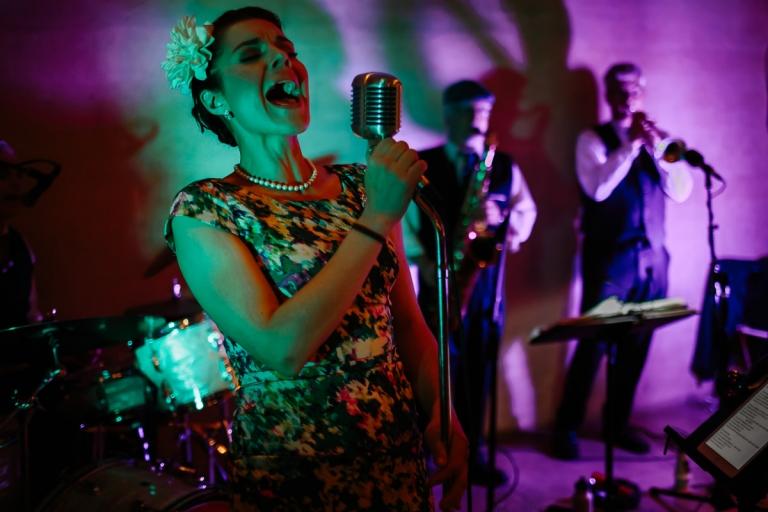 Cosmo Alley Cats Band Wedding Reception Ramekins