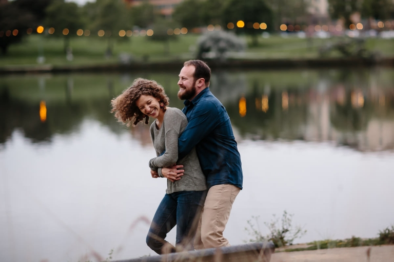 Lake Merritt Engagement Session