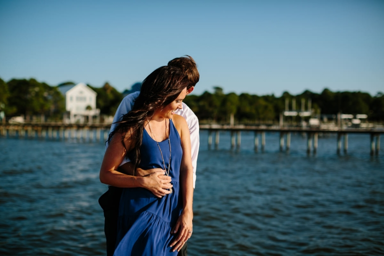 Dockside Engagement Photographer