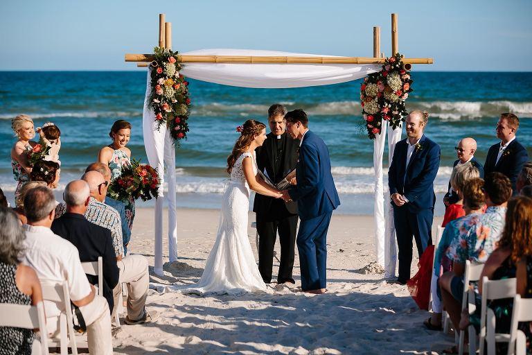Beach Ceremony On St George Island Fl
